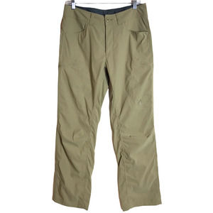 Eddie Bauer First Accent Guide Pro Pants Men's 32x30 Beige Hiking Travel Chino